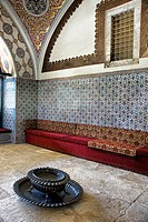 the Imperial Divan, topkapi palace museum, Istanbul, Turkey