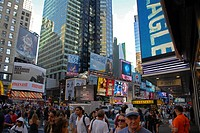 Times Square. Theater District. Manhattan. New York, New York. USA.