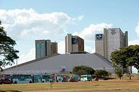 National theater Cláudio Santoro, Edifícios CNC, CNI, SESI, SENAI, IEL, INCRA, AGU, SFA_DF, MDA, Distrito Federal, Brasília, Brazil