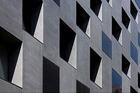 RIVINGTON PLACE ADJAYE ASSOCIATES EXTERIOR ANGLE VIEW OF FACADE AND WINDOWS