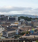 DISTANT VIEW BOGSIDE Cultúrlann Uí Chanáin IRISH LANGUAGE AND CULTURAL CENTRE ODONNELL AND TUOMEY