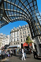 Forum des Halles area, commercial center. Paris, France.