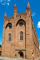 France,Toulouse,church of Les Jacobins