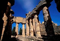 LIBYA, NEAR BENGHAZI, CYRENE, TEMPLE OF ZEUS GREEK