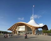 Centre Pompidou_Metz, Metz, France, Shigeru Ban and Jean De Gastines, CENTRE POMPIDOU_METZ SHIGERU BAN + JEAN DE GASTINES METZ FRANCE 2010. EXTERIOR D...