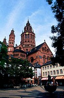 GERMANY, MAINZ, CATHEDRAL