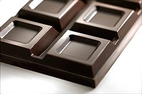Detail of a chocolate bar