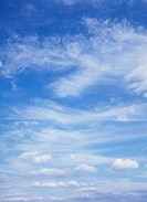Many kinds of clouds