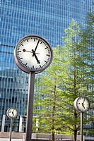 Canary Wharf Clocks,London, UK
