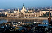 Hungary, Budapest, The Parliament.