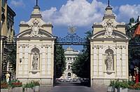 Poland, Warsaw, Kazimierzowski Palace