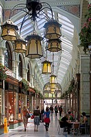 Uk, Norwich, Norfolk, royal arcade