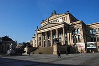 Opera House at the Gendarmenmarkt in Berlin