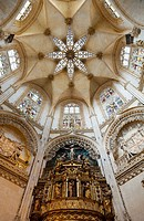 Chapel of the Condestables in the cathedral, Burgos, Castilla-Leon, Spain