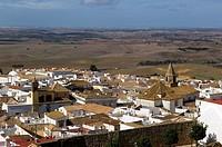 Overview, Medina Sidonia, Cadiz province, Andalucia, Spain
