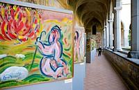 Italy, Campania, Naples, Santa Chiara monastery