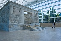 Italy, Lazio, Rome, Ara Pacis art center