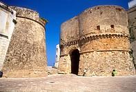 Italy, Apulia, Otranto the castle