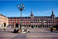 Spain, Madrid, Plaza Mayor
