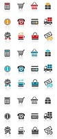 Shopping icon (thumbnail)