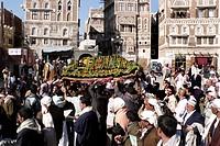 Yemen, Sanaa, funeral