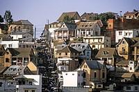 Madagascar, Antananarivo, landscape