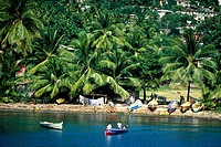Caribbean, Grenadines Islands, Coastline