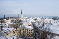 Tallinn Old Town in Winter