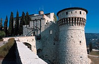 Lombardy, Brescia, the castle