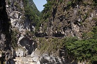Asia, outside, China, Chinese, rock, cliff, rock formations, Hualien, scenery, nature, national park, Taiwan, Taroko, Eastern Asia, gulch, world natur...
