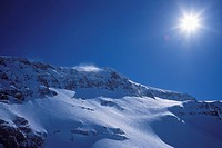 Snow, blue, mountains, scenery, winter, Glacier 3000, Diablerets, scenery, Switzerland, Europe, Vaud,