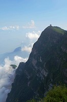 Wanfo Peak of Mount Emei, Leshan, Emeishan, Sichuan Province, China