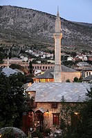 Bosnia and Herzegovina, Mostar, Nezigara Mosque,