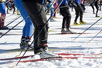 cross country skiing competition, Sotkamo Finland Europe