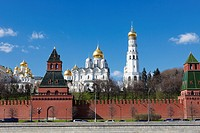The Kremlin´s cathedrals  Moscow, Russia