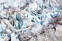 Aletsch, Aletsch glacier, Aletsch area, Alps, detail, view, mountains, detail, ice, mass of ice, mountains, glacier, glacier fissure, cold, mass, patt...