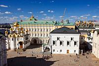 The Cathedral Square  Kremlin, Moscow, Russia
