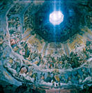 Painting on Dome Ceiling of Cathedral