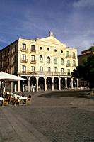 Juan Bravo Theater in the historic city of Segovia  Segovia Spain