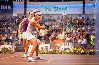 Malaysian Nicol David was crown the women squash champion in the CIMB Malaysian Open Squash Championships 2010 after she taken on England's Jenny Dunc...