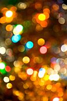 Defocused tinsel