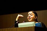Vandana Shiva, Indian ecologist, Conference ´Progetto Gjusti´, Milan 16 11 2010