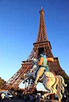France, Paris, Tour Eiffel Tower,