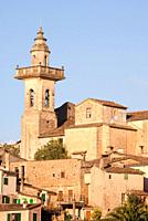 Valldemossa's church, Majorca, Spain