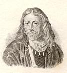 Johannes Hevelius, 1611 to 1687  Polish astronomer  From Crabb's Historical Dictionary published 1825
