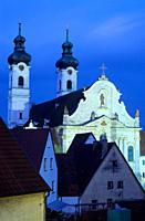 Europe, Germany, Baden_Wuerttemberg, Zwiefalten, Zwiefalten Abbey