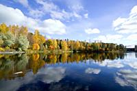 Autumn scenery, Kajaani Finland