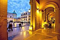 Main square, Marsala, Sicily, Italy