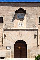 Avila, Avila Province, Spain  15th century Convent of the Encarnación, where St  Teresa lived for several decades