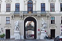 The Hofburg Imperial Palace, Vienna, Austria